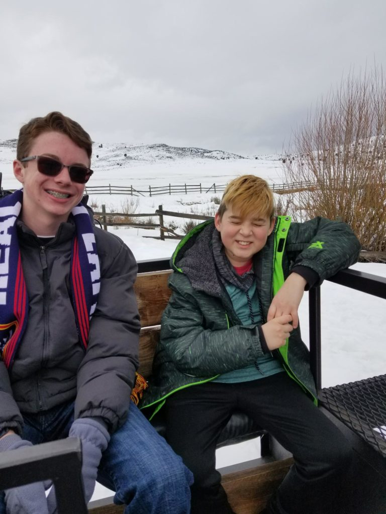 Youth Group - February 2019 - Elk Ride